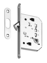 Zadlabávací zámok pre posuvné dvere