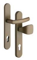 Bezpečnostní kování  RX802-40/92 CORNO pro profilové dveře