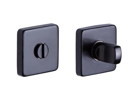 WC design černá