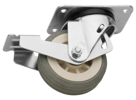 Otočné kolečko s brzdou průměr 100 mm