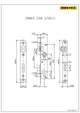 Zámek ZZB3/90